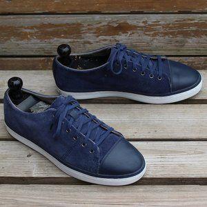 "Cole Haan ""Falmouth"" Sport Sneaker, Blue Suede EUC"